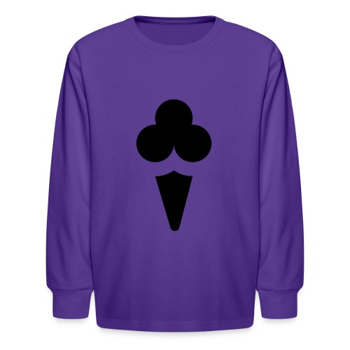 Ice cream - Kids' Long Sleeve T-Shirt
