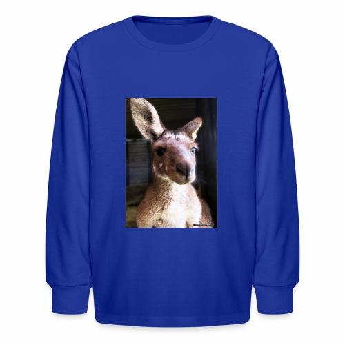 Kangaroo - Kids' Long Sleeve T-Shirt