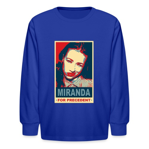 Miranda Sings Miranda For Precedent - Kids' Long Sleeve T-Shirt