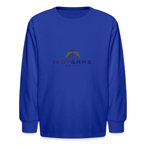 IGOTGAME ONE - Kids' Long Sleeve T-Shirt