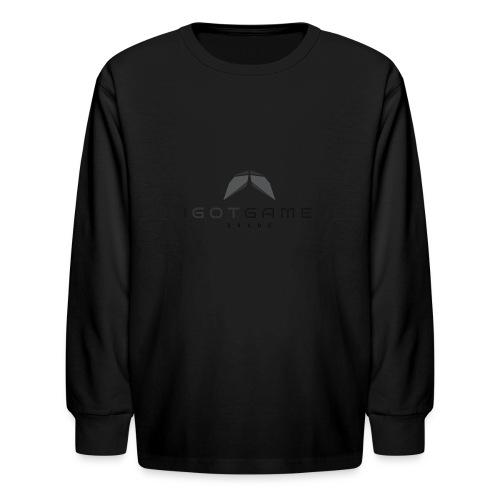 IGOTGAME ONE - Kids' Long Sleeve T-Shirt
