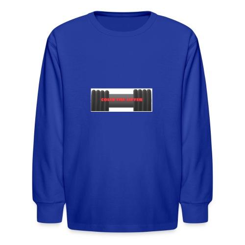 colin the lifter - Kids' Long Sleeve T-Shirt