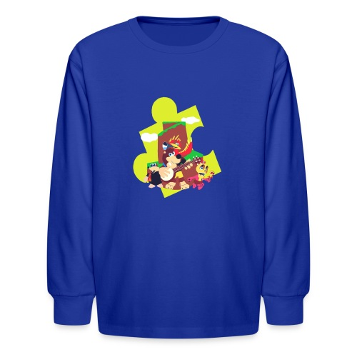 banjo - Kids' Long Sleeve T-Shirt