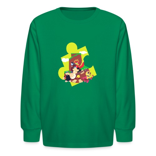 banjo - Kids' Long Sleeve T-Shirt