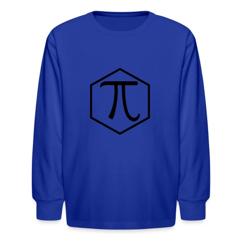 Pi - Kids' Long Sleeve T-Shirt