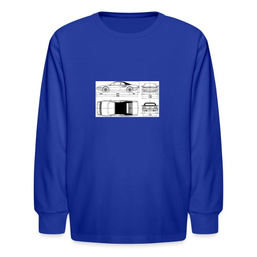 artists rendering - Kids' Long Sleeve T-Shirt