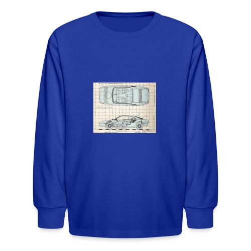 drawings - Kids' Long Sleeve T-Shirt