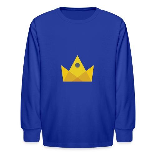 I am the KING - Kids' Long Sleeve T-Shirt