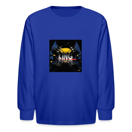 ones wolverine was a king!! - Kids' Long Sleeve T-Shirt