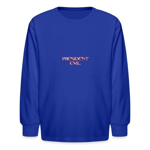 President-Evil-Bestseller - Kids' Long Sleeve T-Shirt