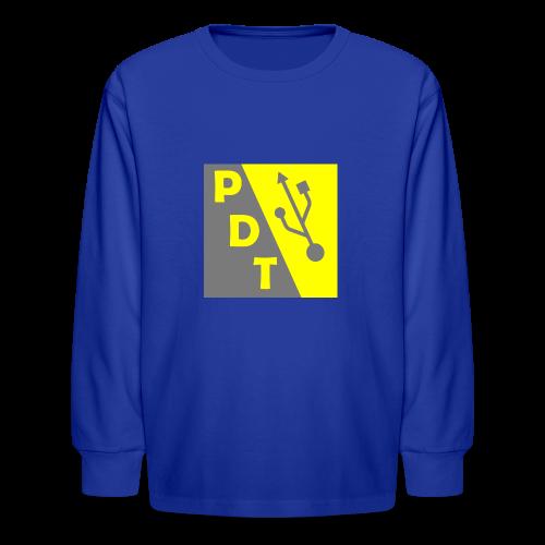 PDT Logo - Kids' Long Sleeve T-Shirt