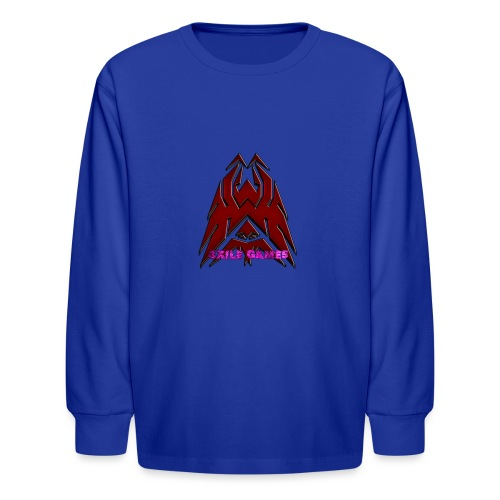 3XILE Games Logo - Kids' Long Sleeve T-Shirt