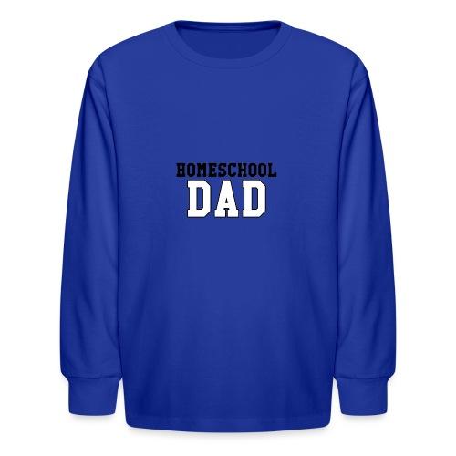 homeschooldad - Kids' Long Sleeve T-Shirt