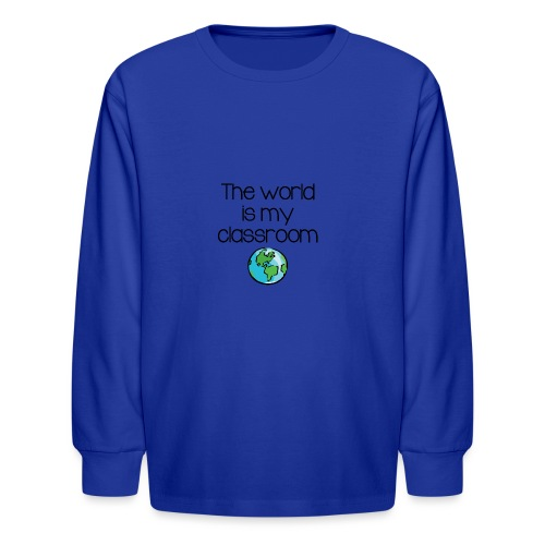 World Classroom - Kids' Long Sleeve T-Shirt