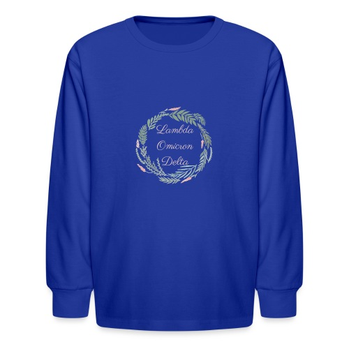 LOD Flower Wreath 1 - Kids' Long Sleeve T-Shirt