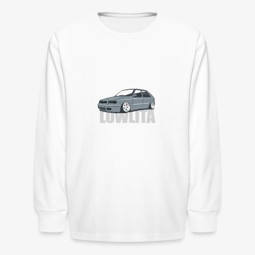 felicia lowlita - Kids' Long Sleeve T-Shirt