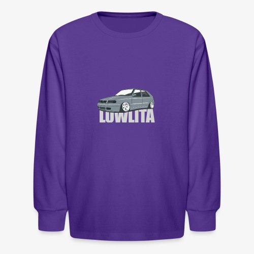 felicia lowlita - Kids' Long Sleeve T-Shirt