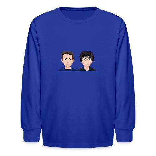 Sun-Both - Kids' Long Sleeve T-Shirt