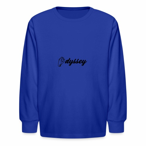 Hand Sign Odyssey - Kids' Long Sleeve T-Shirt