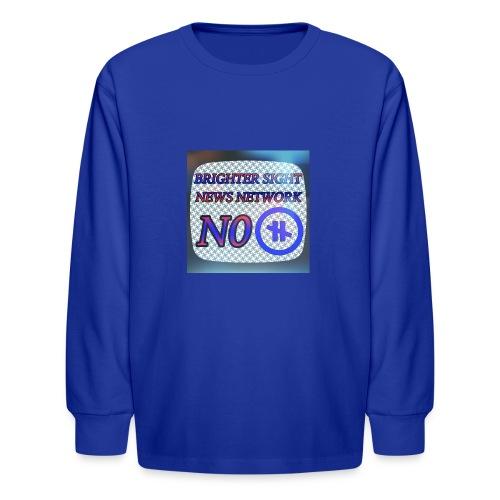 NO PAUSE - Kids' Long Sleeve T-Shirt