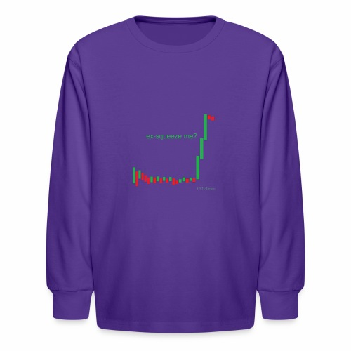ex-squeeze me? - Kids' Long Sleeve T-Shirt