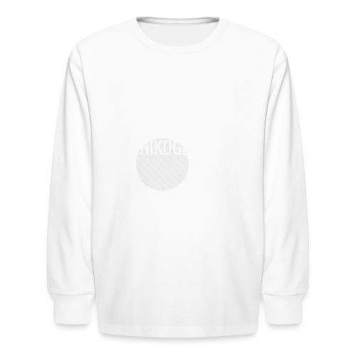 Nikogeek0 - Kids' Long Sleeve T-Shirt