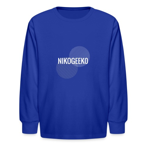 Nikogeek0 - Kids' Long Sleeve T-Shirt