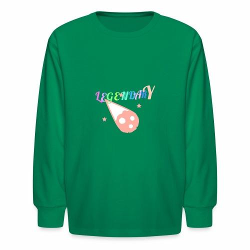 Legendary - Kids' Long Sleeve T-Shirt
