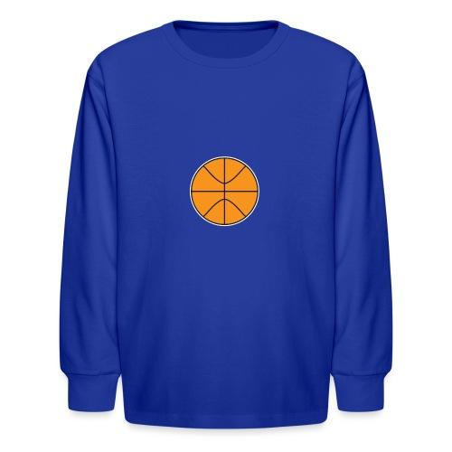 Plain basketball - Kids' Long Sleeve T-Shirt