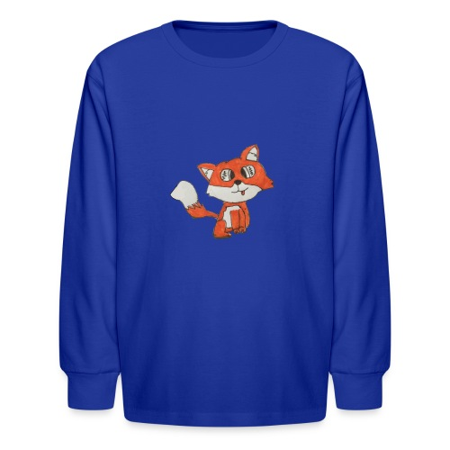 Lexi Revels1 fox 1 - Kids' Long Sleeve T-Shirt