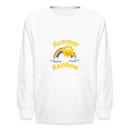 Summer Rainbow - Kids' Long Sleeve T-Shirt