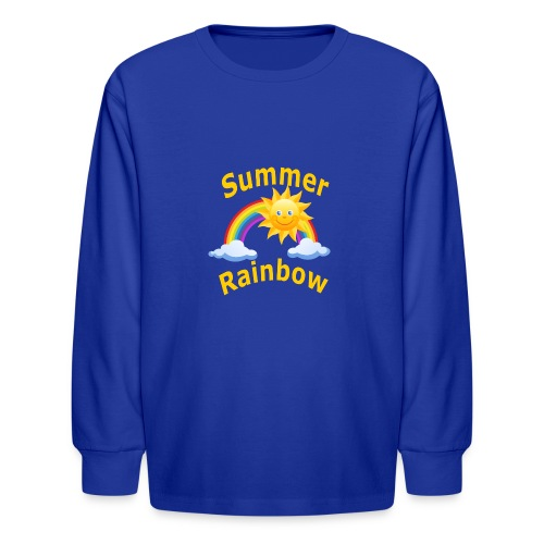 Summer Rainbow - Kids' Long Sleeve T-Shirt
