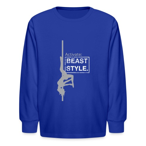 Activate: Beast Style - Kids' Long Sleeve T-Shirt