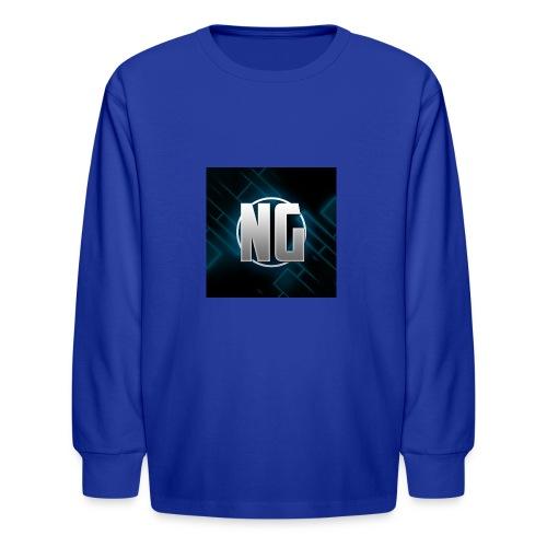 NadhirGamer Merch - Kids' Long Sleeve T-Shirt