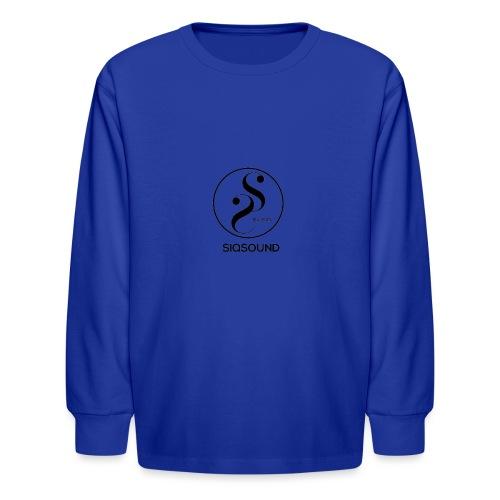Siqsound Market - Kids' Long Sleeve T-Shirt