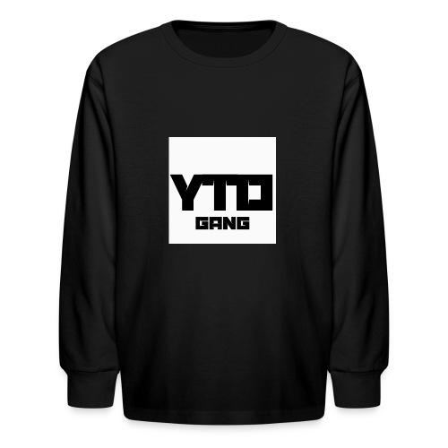 Gang logo - Kids' Long Sleeve T-Shirt
