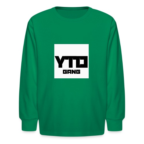 Gang logo - Kids' Long Sleeve T-Shirt