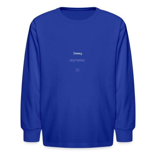 Jimmy special - Kids' Long Sleeve T-Shirt