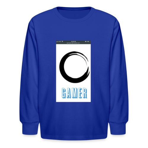 Caedens merch store - Kids' Long Sleeve T-Shirt