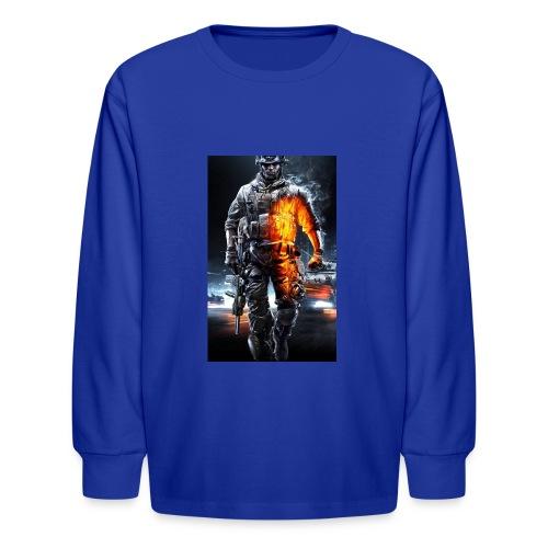 Cod fan - Kids' Long Sleeve T-Shirt