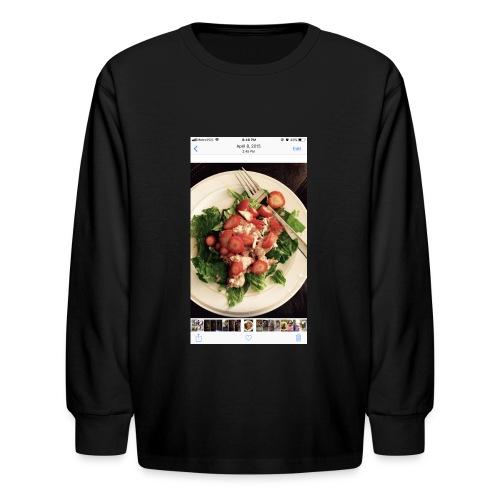 King Ray - Kids' Long Sleeve T-Shirt