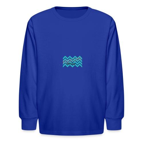 Fern Lyn Flaming official logo - Kids' Long Sleeve T-Shirt