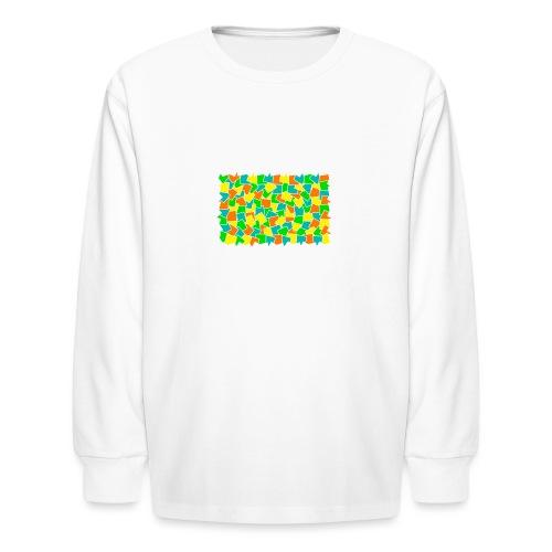 Dynamic movement - Kids' Long Sleeve T-Shirt