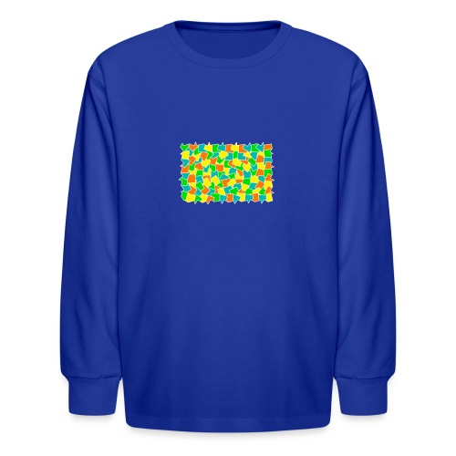 Dynamic movement - Kids' Long Sleeve T-Shirt