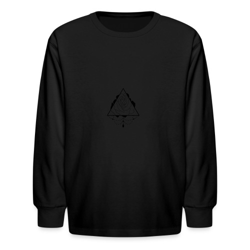 black rose - Kids' Long Sleeve T-Shirt