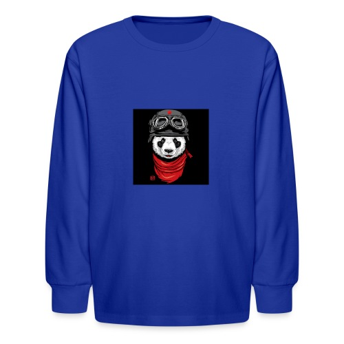 Panda - Kids' Long Sleeve T-Shirt