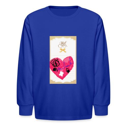 Heart of Economy 1 - Kids' Long Sleeve T-Shirt
