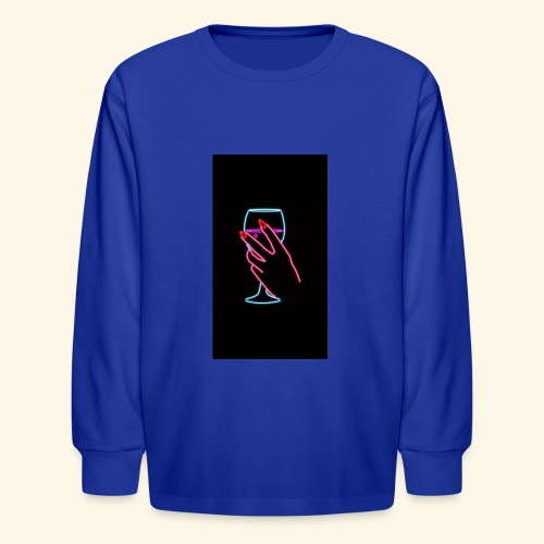 unbothered - Kids' Long Sleeve T-Shirt