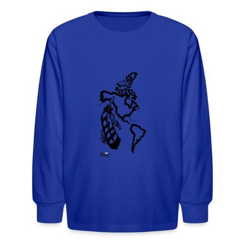 NativeLand - 7thGen - Kids' Long Sleeve T-Shirt