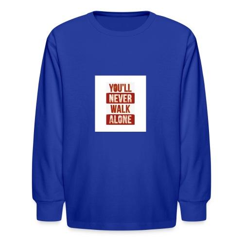 liverpool fc ynwa - Kids' Long Sleeve T-Shirt